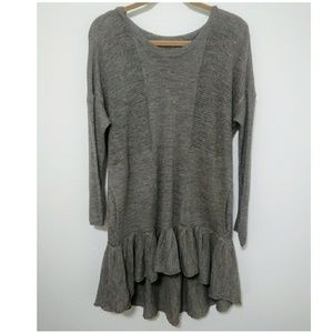 Oversized Free People knitted Tunic Top